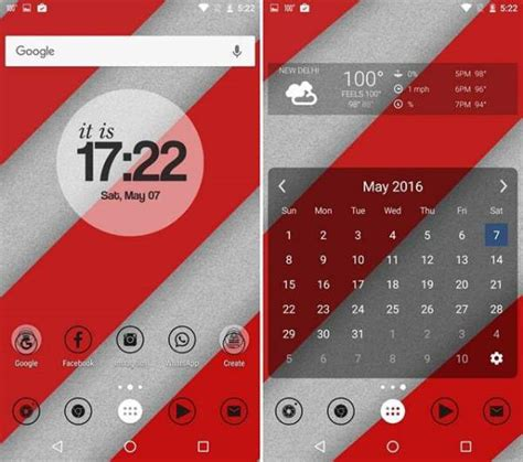 Nova Launcher Themes Minimal | top 10 best nova launcher themes amazing for android 2017