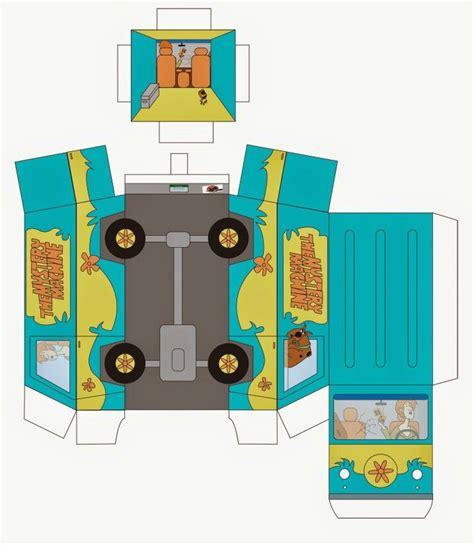 Scooby Doo Papercraft - pin by d 233 bora de oliveira on cubeecraft e ideias de papel