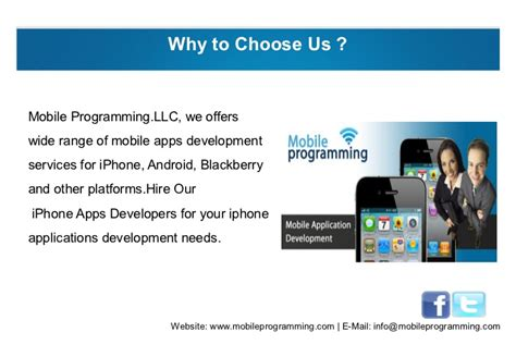 mobile programming iphone apps development with mobile programming