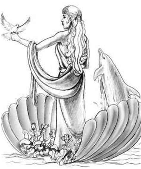 twelve olympians symbols | picture of aphrodite | gods