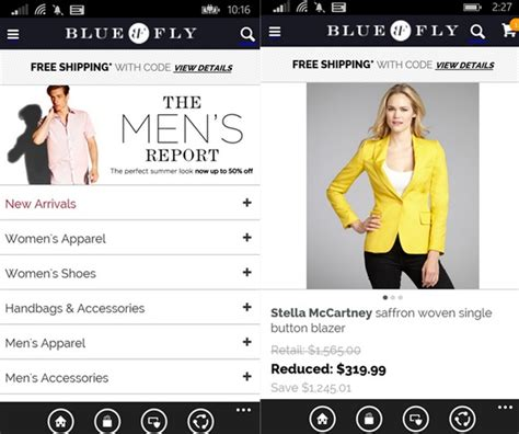 Bluefly Buys by Official Bluefly Fashion Store App Now Available In