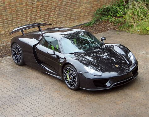 porsche 918 spyder 2015 black spectacular 2015 porsche 918 spyder for sale in the uk