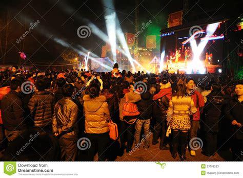 new year performance 2012 new year performance editorial stock photo