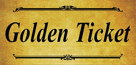 free golden ticket template 6 golden ticket templates word excel templates