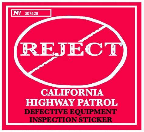 Rejection Sticker