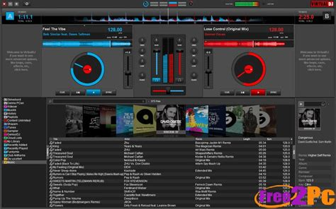 dj software free download full version pc virtual dj 8 pro full version download www free2pc com