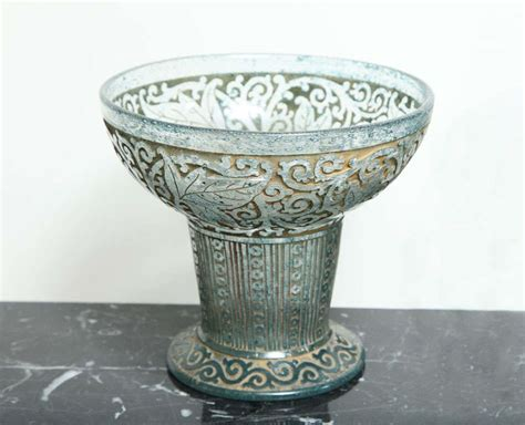 exquisite signed daum nancy vase at 1stdibs