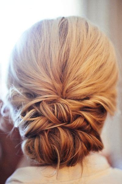 Wedding Hair Low Updo by The 25 Best Low Updo Ideas On Braided Hair