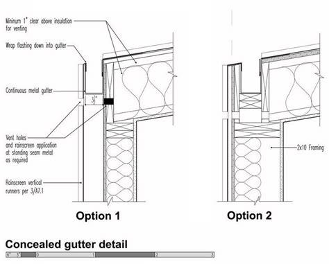 box gutter section 25 best ideas about box gutter on pinterest cedar