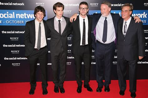 the social cast he wears hipster glasses with the social network cast