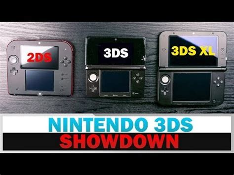 better 3ds nintendo 2ds vs 3ds vs 3ds xl how to save money and do