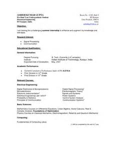 exles of resumes curriculum vitae exle south