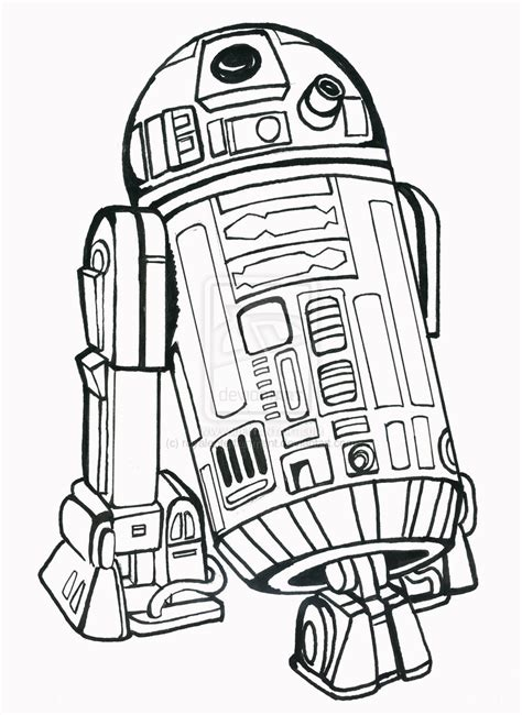 r2d2 coloring page r2 d2 droid free coloring page wars