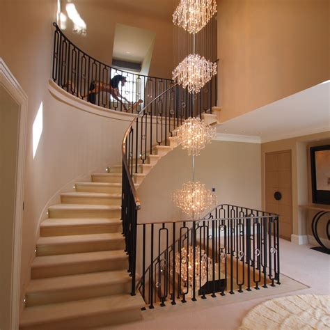 Chandeliers For Foyer Gorgeous Foyer Chandeliers Trend New York Traditional Staircase Remodeling Ideas With Banister