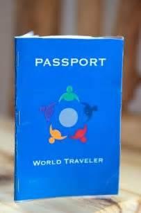 Make Your Own Passport Template by Make Your Own Passport Yellowspringsmontessoripreschool