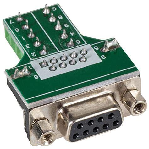 9 pin d sub db 9 de 9 solderless connector plus