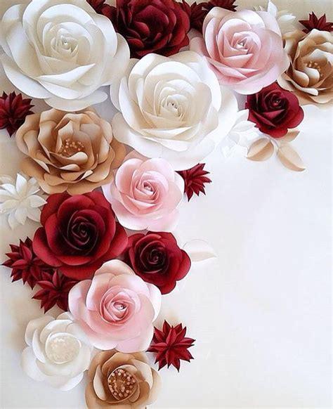 imagenes de flores grandes de papel papel flor decoraci 243 n flores de papel grandes boda flor