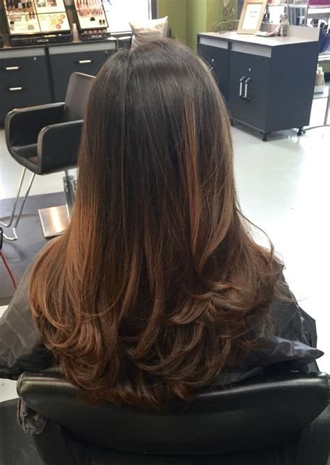 long hair short layer cut and blow out beautiful best 25 blowout hairstyles ideas on pinterest blowout