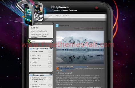 iphone themes blogspot purple mobile blogger iphone theme download