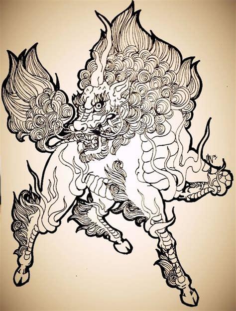 Tattoo Unicorn Japanese | kirin or japanese unicorn by schonheit on deviantart