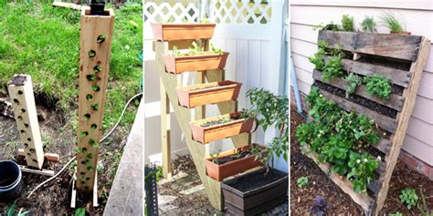 12 diy ways to grow a vertical strawberry garden