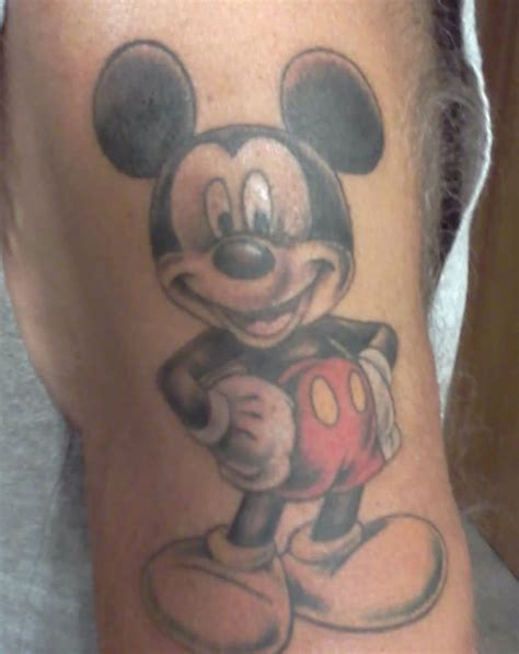 mickey mouse childhood favorite my tattoo pinterest
