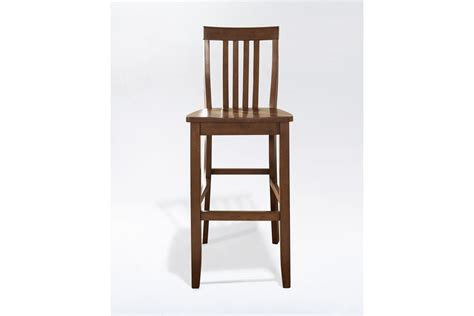 30 Inch Cherry Bar Stools by School House Bar Stool In Classic Cherry With 30 Inch Seat