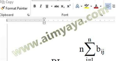 rumus membuat judul skripsi 3 cara mudah copy rumus dari pdf internet ke ms word