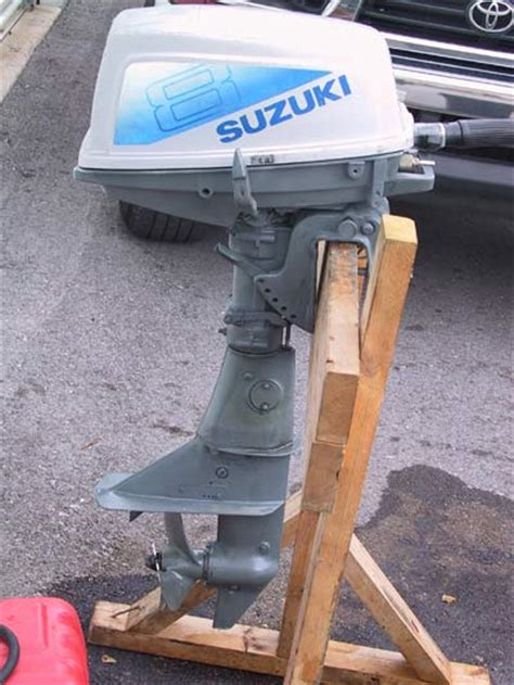 Used Suzuki Outboards Used Suzuki 8hp Outboard Boat Motor For Sale