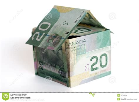 money house canadian money house stock images image 2072604