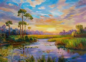 beautiful paintings of landscapes painting