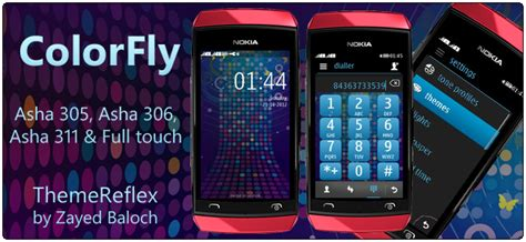 themes of nokia asha 305 color fly theme for nokia asha 305 asha 306 asha 311