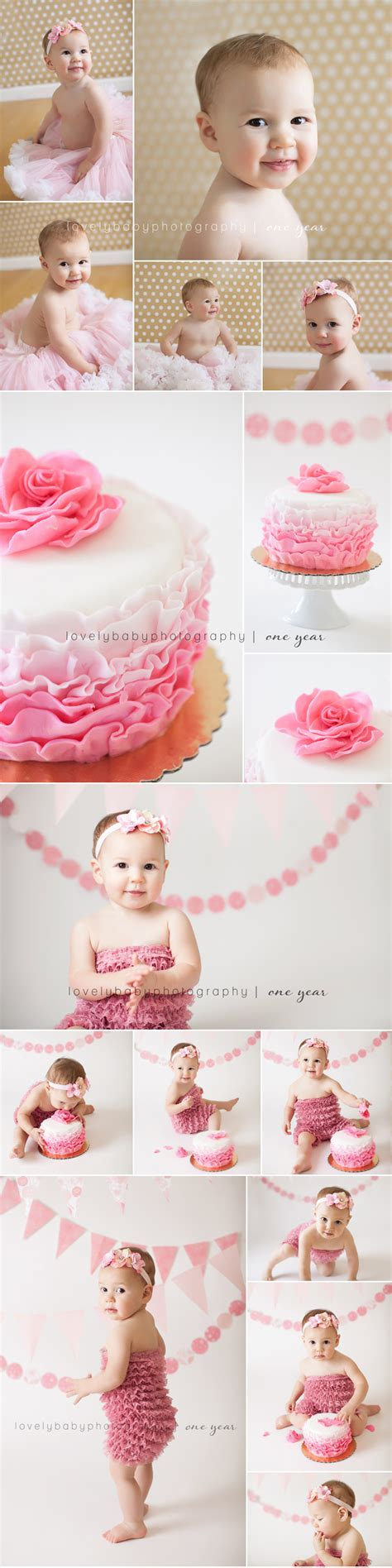 Cake Smash and First Birthday Pictures on Pinterest | Cake ...