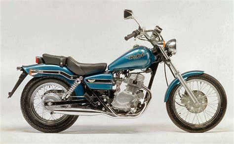 Honda Ca Honda Ca 125 Rebel 2000 Fiche Moto Motoplanete