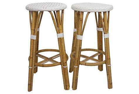 Bamboo Stools by Bamboo Bar Stools Pair On Onekingslane Wish List