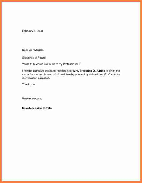 authorization letter format for hotel booking sle authorization letters