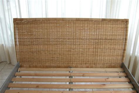 Wicker Bed Frames Obo Ikea Wicker Bed Frame City