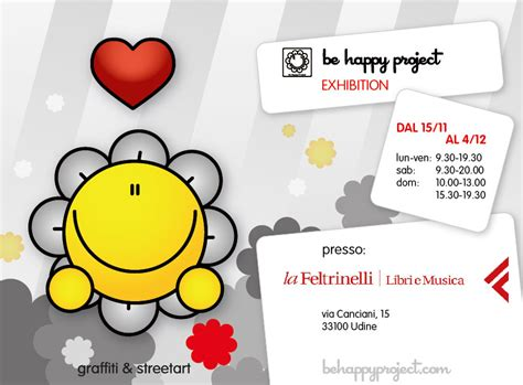 libreria feltrinelli udine be happy project 187 be happy project in mostra a la