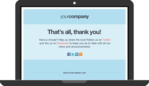 thank you page template new landing page templates try them now for free lander