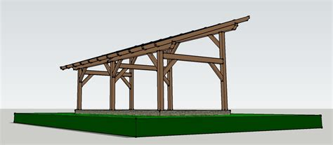 How To Build A Post And Beam Shed by 14x30 Timber Frame Shed Barn