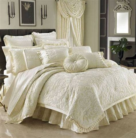j queen marquis ivory king comforter set