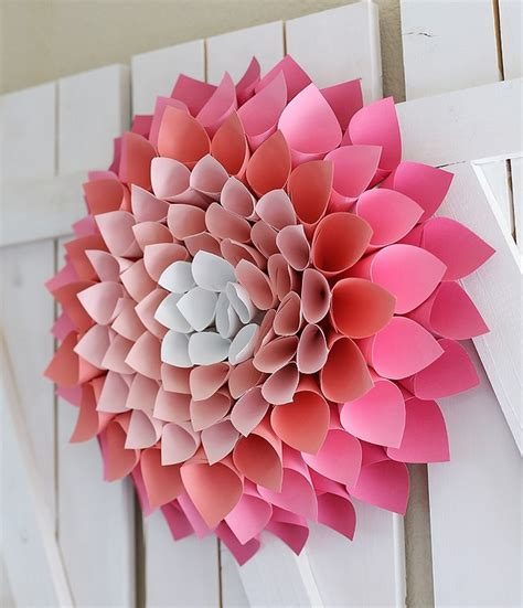 Paper Craft Decoration Home Diy Amazing Home Decor Crafts Ideas Dearlinks