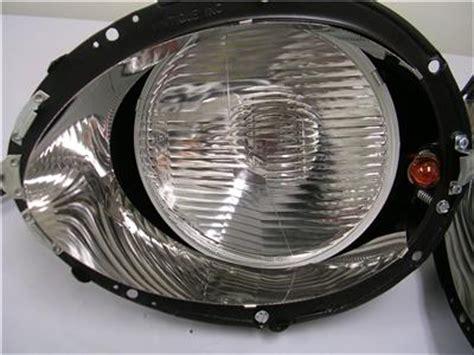 1937 1938 1939 ford standard halogen headlight kit + clear