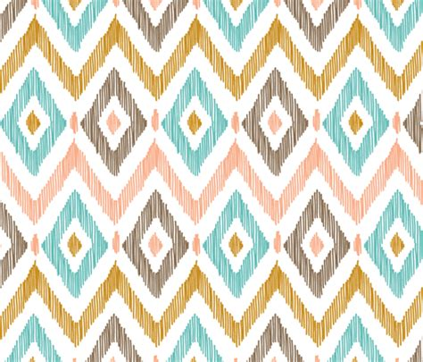 ikat pattern diamond ikat fabric pattysloniger spoonflower