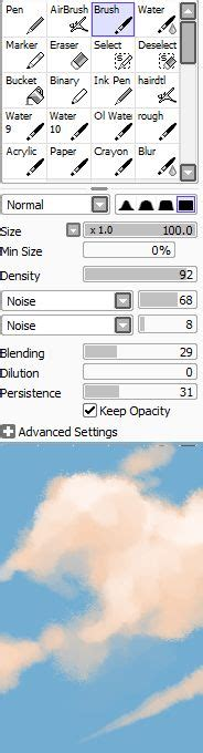 paint tool sai cloud brush 1000 images about digital on paint tool