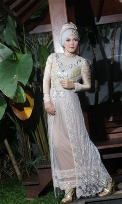 contoh gambar kebaya muslim untuk akad nikah