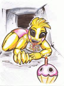 The new chica from fnaf fanart by thecurlybunny on deviantart