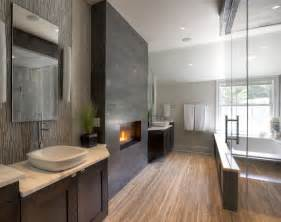 Fireplace In Bathroom Wall » New Home Design