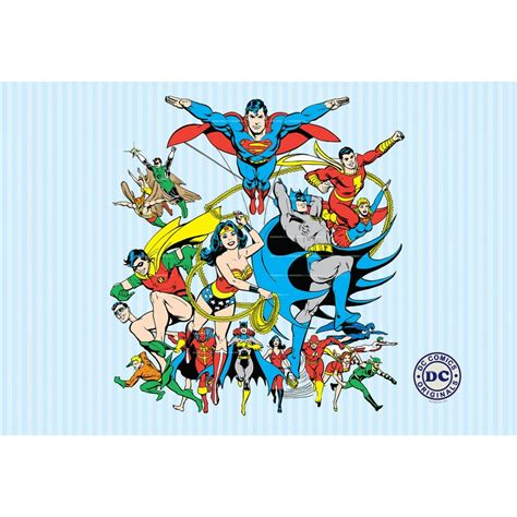superman wall mural 1 wall wallpaper mural superman batman justice league 1 58m x 2 32m
