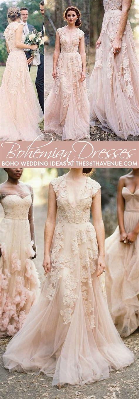 Schicke Brautkleider by Bohemian Wedding Ideas Diy Boho Chic Wedding The 36th
